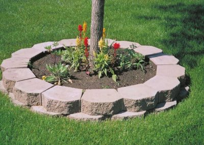 image of rocks for garden bed