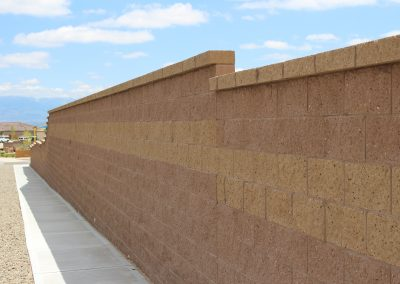 Image of retaining wall